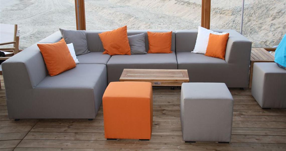 Outdoor lifestyle luxe allweather loungeset - Stof voor tuinmeubilair ...