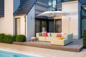 luxe loungeset voor buiten