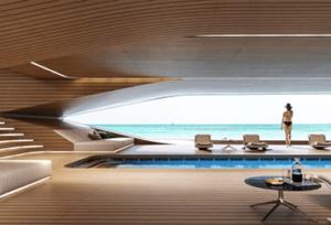 lounge kussens jacht